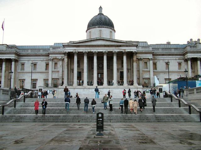 National Gallery of London - Facade