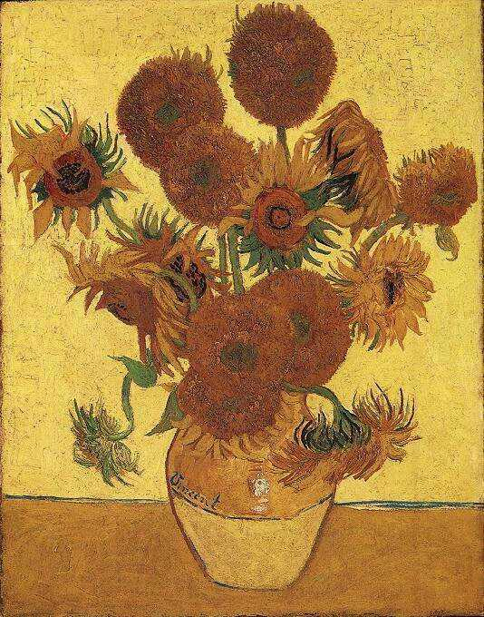National Gallery of London - Sunflowers by Vincent Van Gogh