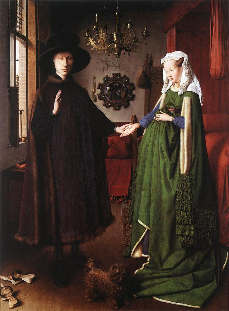 National Gallery of London - The Arnolfini Portrait by Jan van Eyck
