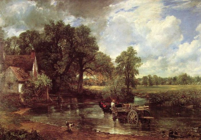 National Gallery of London - The Haywain by John Constable