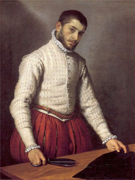 National Gallery of London - The Tailor by Giovanni Battista Moroni