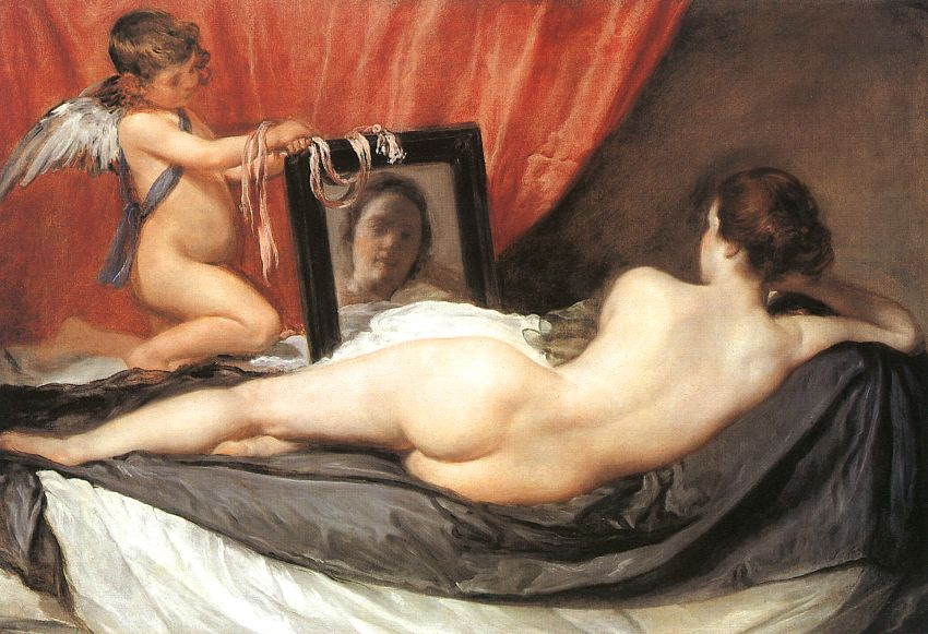 National Gallery of London - The Toilet of Venus (