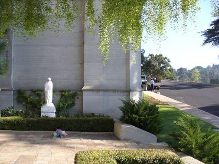 Forest Lawn Memorial Park in Los Angeles, USA - Cemetery view