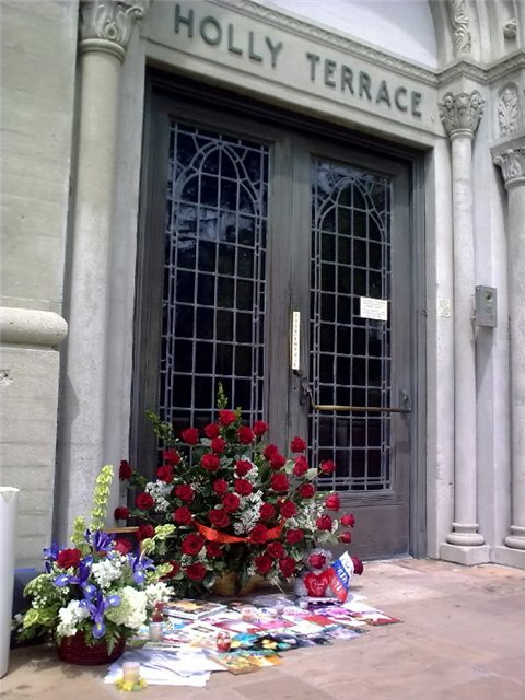 Forest Lawn Memorial Park in Los Angeles, USA - Place of burrial of Michael Jackson