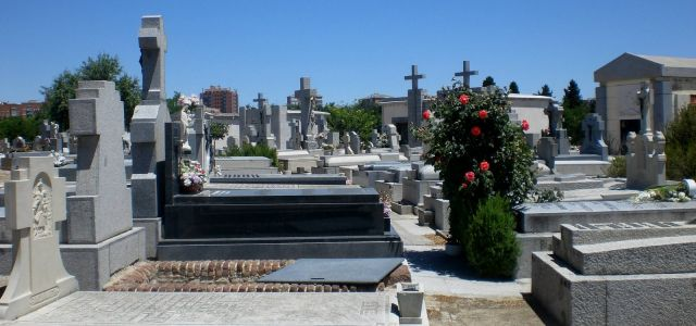 Almudena Cemetery in Madrid, Spain - Cemetery view