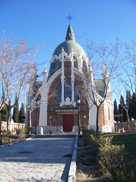 Almudena Cemetery in Madrid, Spain - Chapel at Almudena Cemetery