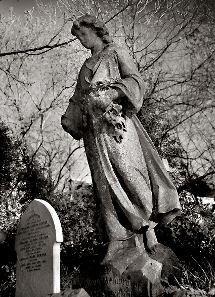 Highgate Cemetery in London, UK - Funerary architecture