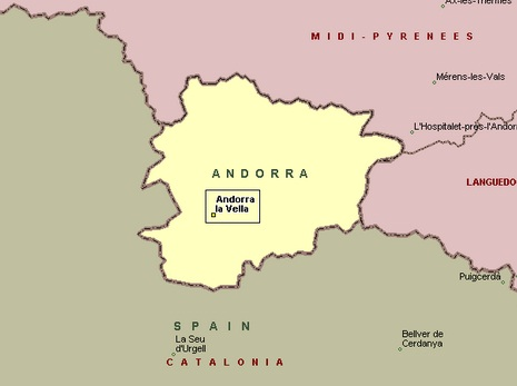 Andorra The best countries of Europe