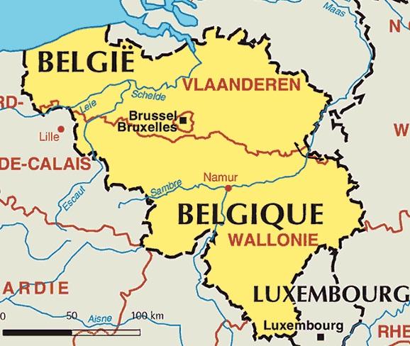 Images Belgium Belgium map 7752 – Belgiummap