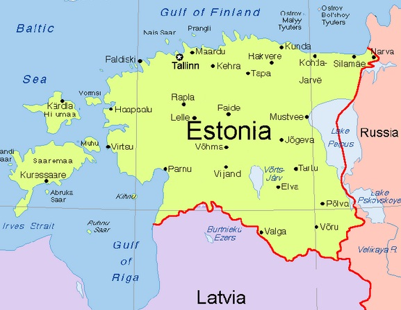Images estonia map of estonia 7779 estonia map of estonia gumiabroncs Images