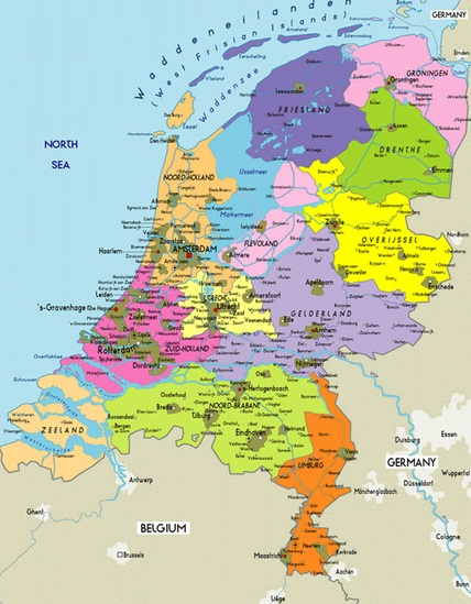 Netherlands The best countries of Europe