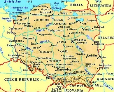 Poland The Best Countries Of Europe - Poland map