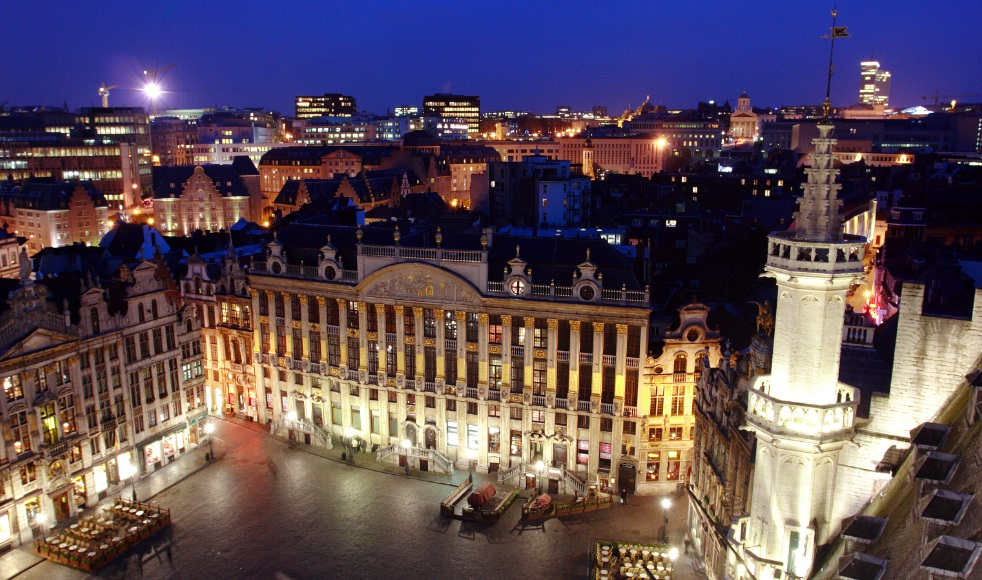 Belgium - Brussels at night
