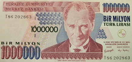 Best option for currency inturkey