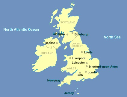 United Kingdom - Map of United Kingdom