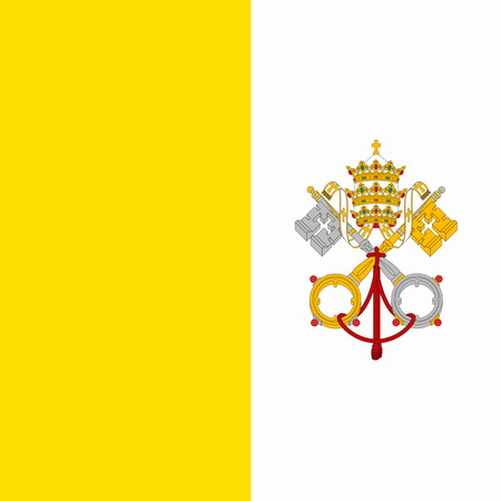 Vatican City - Flag of Vatican
