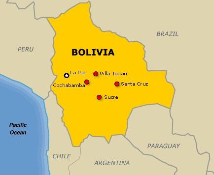 Images Bolivia Map Of Bolivia - Map of bolivia