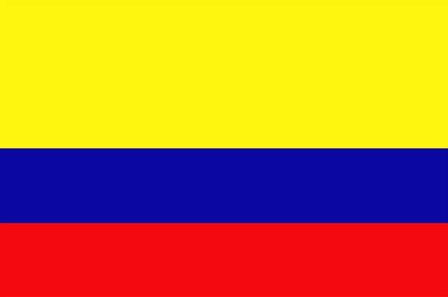 Colombia - Flag of Colombia