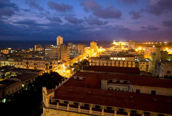 Havana - Havana view by night