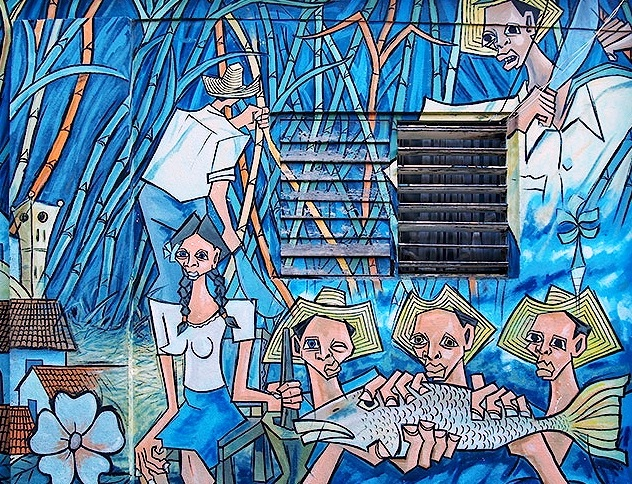 Baracoa - Graffiti in the city