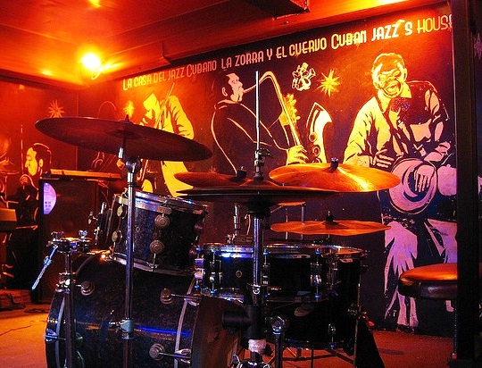 La Zorra Y El Cuervo Jazz Club - Club view