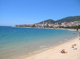 Corsica, island from Southern France - sunny beaches in Corsica Island
