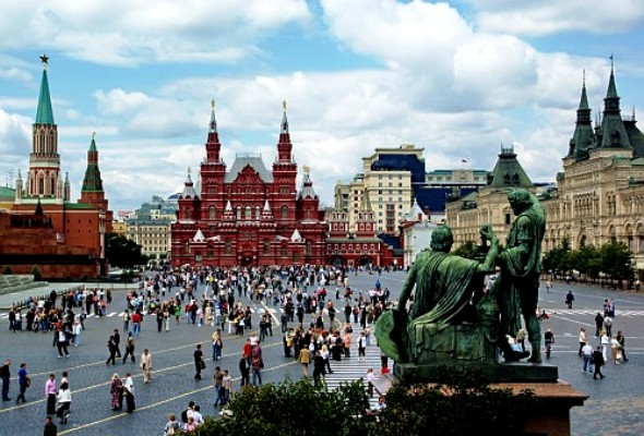 Moscow, capital of Russia - The Red Square
