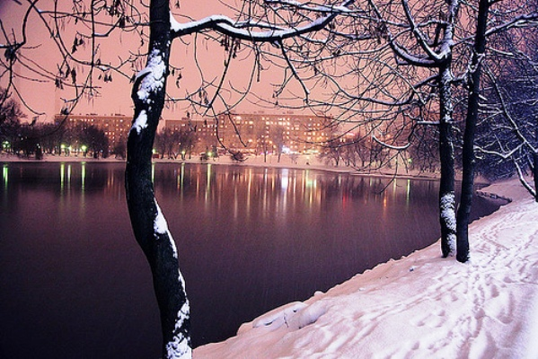 Moscow, capital of Russia - Winter time in Moscow