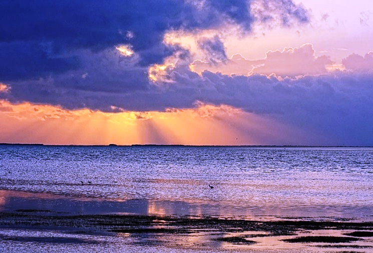 Cayo Coco and Cayo Guillermo - Beautiful sunset