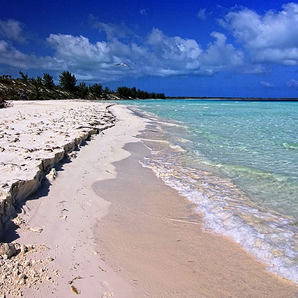 Cayo Coco and Cayo Guillermo - White sandy beach
