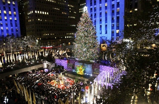Rockefeller center the best places to visit in new york usa for Best places to go in nyc at night