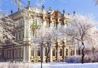 The Hermitage Museum - Winter sight