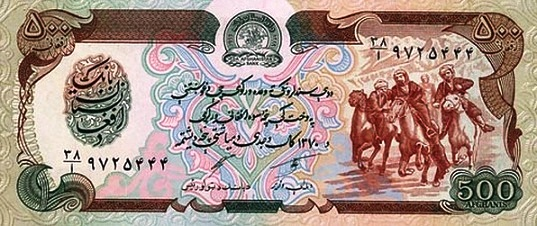 Afghanistan - Currency