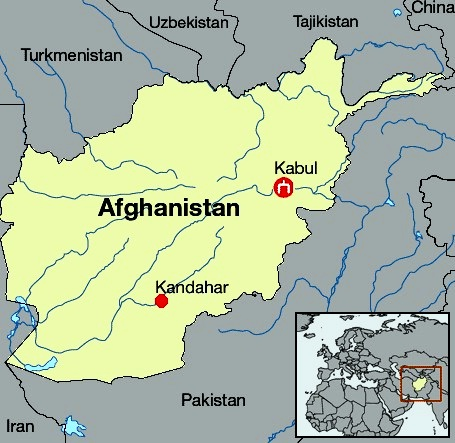 World Map Of Kabul Afghanistan. Afghanistan  Map of The best countries in Asia