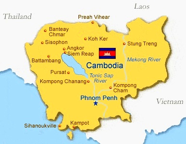 Cambodia - The best countries in Asia