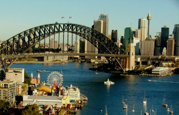 The best cruise in Australia and New Zealand - Sydney, the capital of Australia