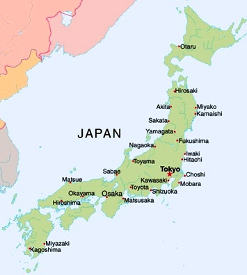Images Japan Map of Japan 8487
