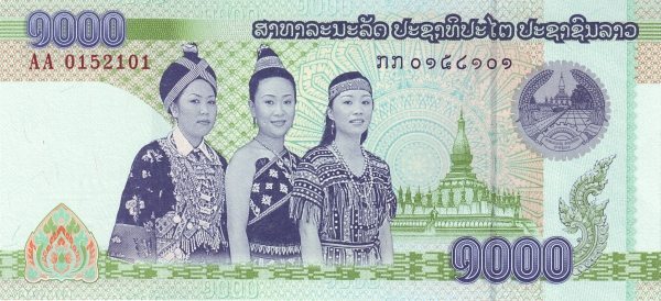 Laos - Currency