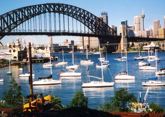 Sydney Harbour Bridge - Fantastic view