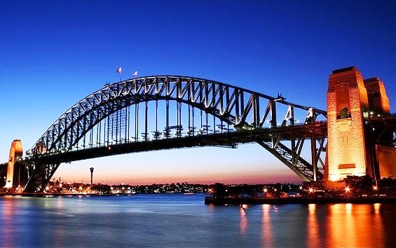 Sydney Harbour Bridge - Night view