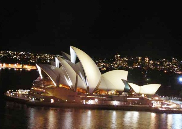 The Sydney Opera House - Night view
