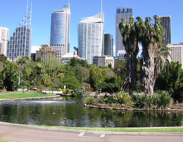 Sydney Royal Botanic Gardens - Great view