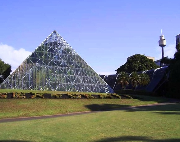 Sydney Royal Botanic Gardens - Tropical center