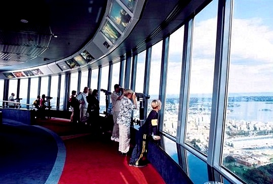 Sydney Tower - Interior view