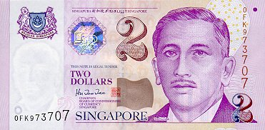 Picture Singapore Money on Singapore   Currency