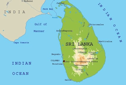 Map Of Asia Sri Lanka.Images Sri Lanka Map Of Sri Lanka 8631