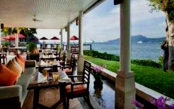 The Rim Talay Restaurant  - Quiet elegance