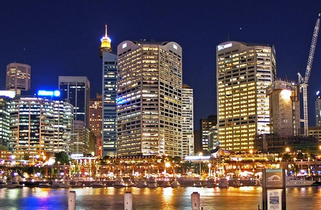 Darling Harbour - Night view