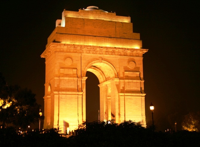 India Gate - Night view