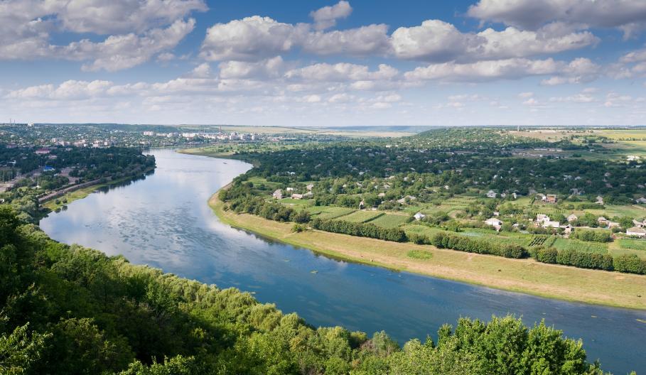 Moldova - Panoramic landscape
